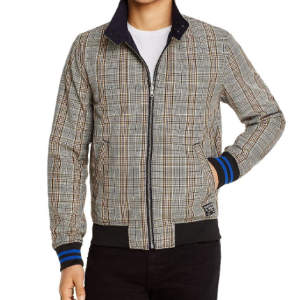 Scotch & Soda chic reversible bomber