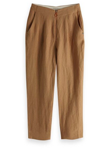 Scotch & Soda draped textured tailored pants