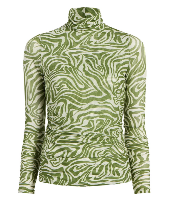 Cinq a Sept zebra turtleneck
