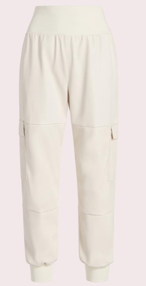 Cinq a Sept faux leather giles pant
