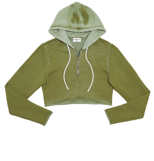Cotton Citizen brooklyn crop hoodie