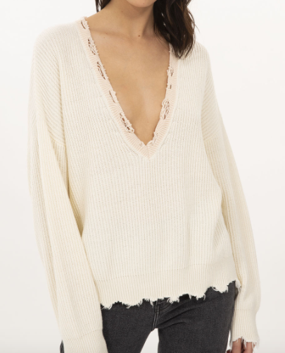 IRO shore sweater