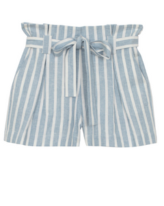 L'AGENCE alex paperbag shorts