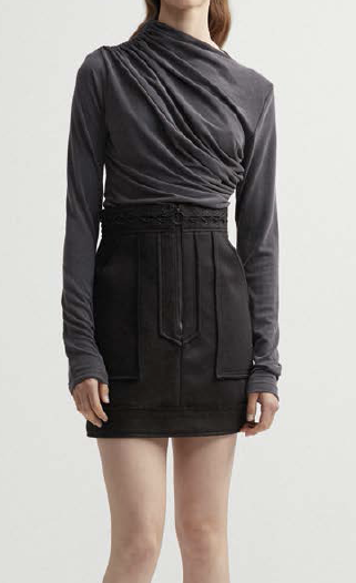 Acler collins skirt