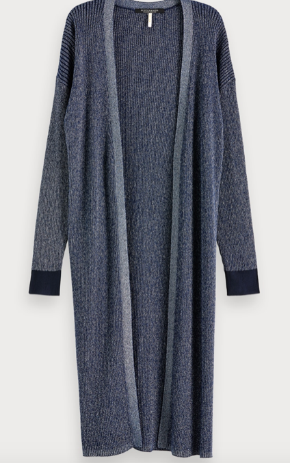 Scotch & Soda long lurex cardigan