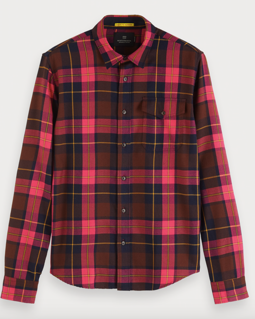 Scotch & Soda multicolor check shirt