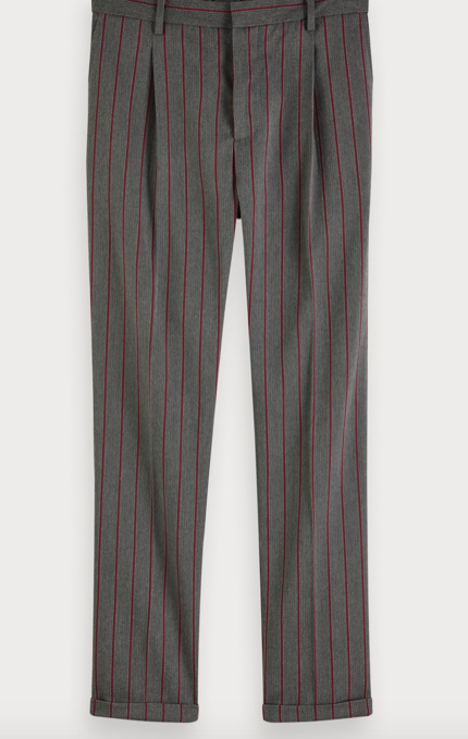 Scotch & Soda blake yarn dyed chino