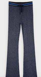 Scotch & Soda lurex knitted flare pants
