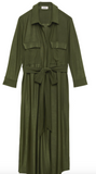 L'AGENCE rivi long shirt dress