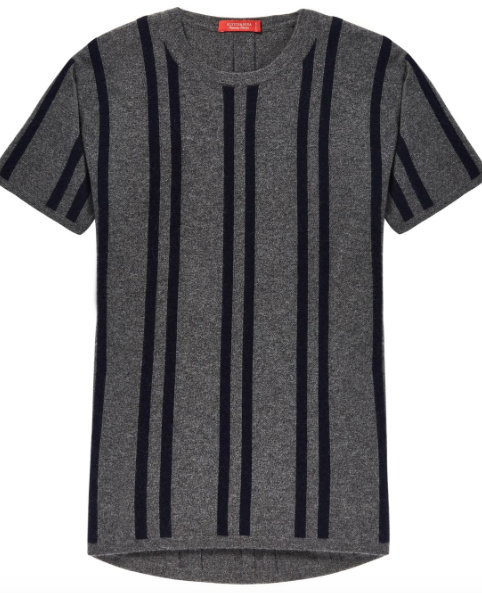 Scotch & Soda cashmere blend short sleeve