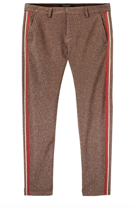 Scotch & Soda lurex tailored pant