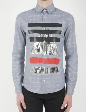 McQ mens googe shirt