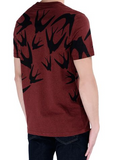 MCQ mens melange swallow tee