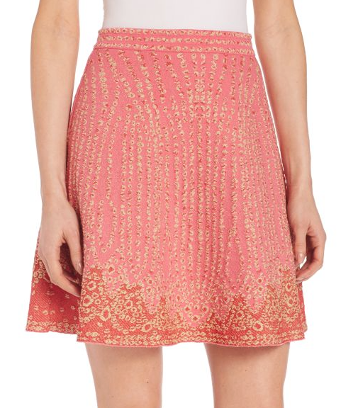 M Missoni jacquard skirt