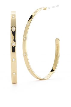 Elizabeth & James bassa hoop earring