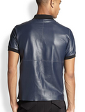 MCQ leather polo