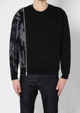 MCQ mens oversized zip sweat
