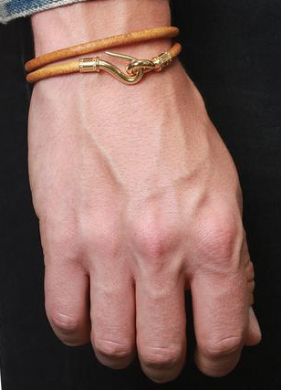 Nialaya mens double wrap bracelet