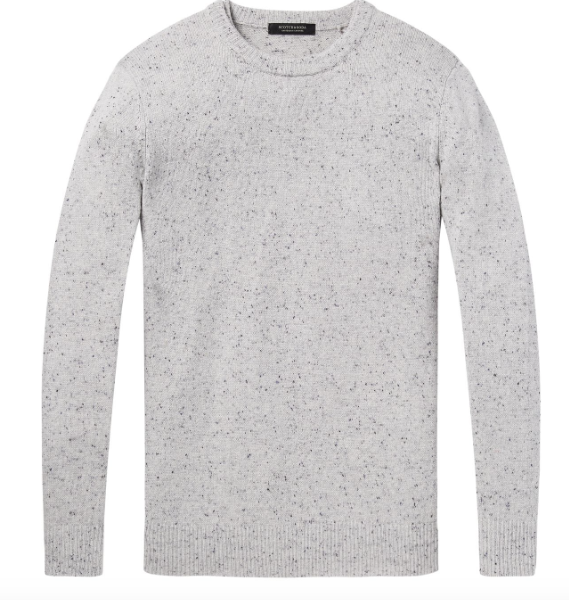 Scotch & Soda crewneck pullover in wool blend