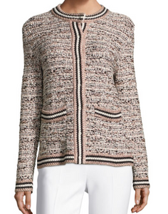 M Missoni lurex tweed jacket