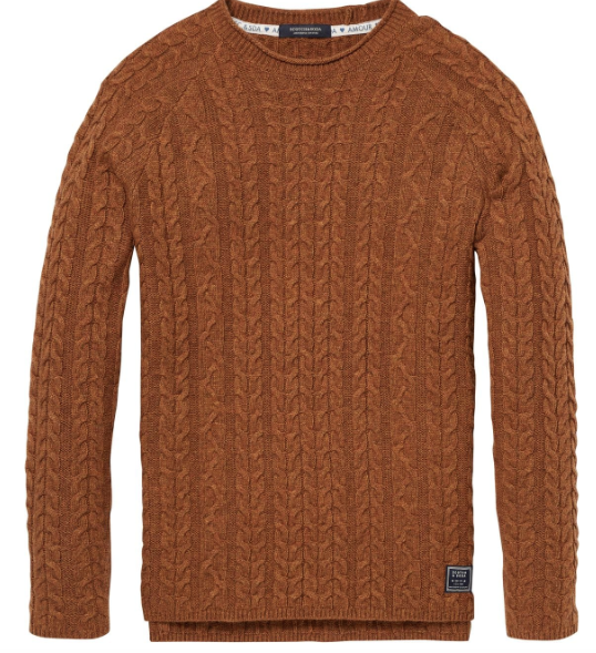 Scotch & Sodarocker pullover in wool blend