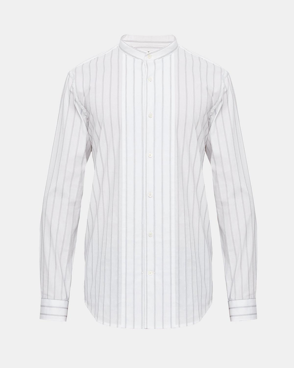 Theory stand collar shirt