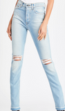 Cotton Citizen high split denim