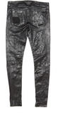 RtA Dorian leather distressed pant