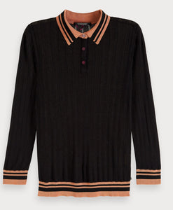 Scotch & soda knitted polo
