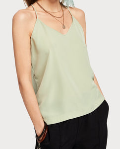 Scotch & soda spaghetti strap tank