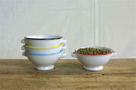 Round Ceramic Bowl, 4 Colors