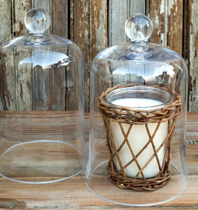 Candle Cover Bell Jar - Fox & Fig
