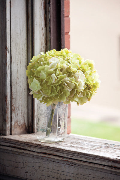 Hydrangea Pick Light Green