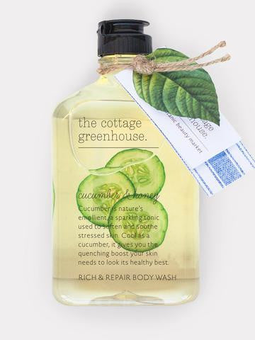 Cucumber & Honey Rich & Repair Body Wash