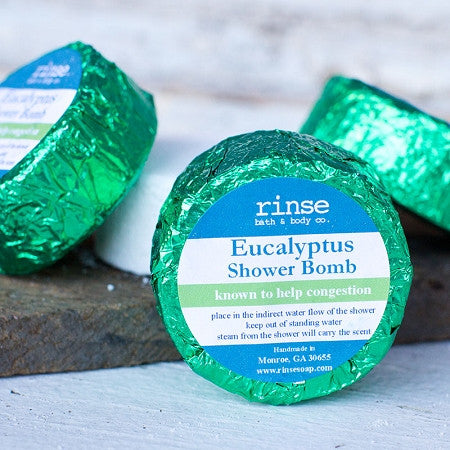 Shower Bombs ~ Assorted Essential Oil Scents