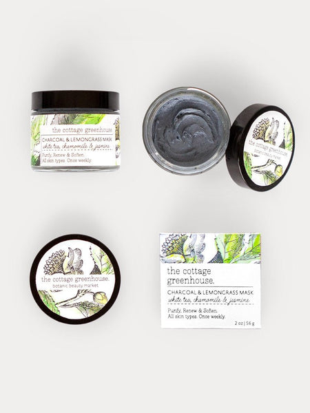 Charcoal & Lemongrass Mask