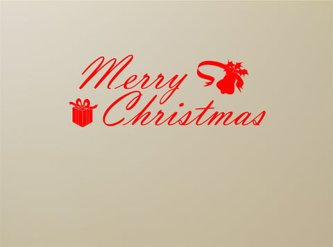 Merry Christmas wall decal - Arise Decals  - 1