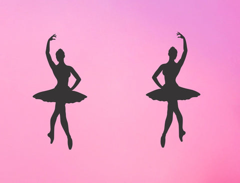 Ballerina wall decal - Arise Decals