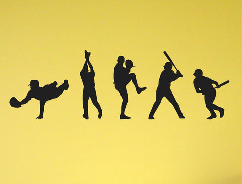 Baseball Players wall decal - Arise Decals
