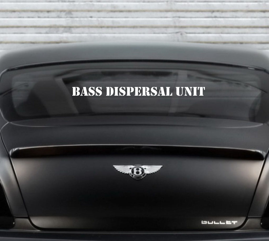 Bass Dispersal Unit Decal - Arise Decals