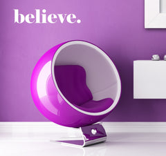 Believe wall decal - Arise Decals
