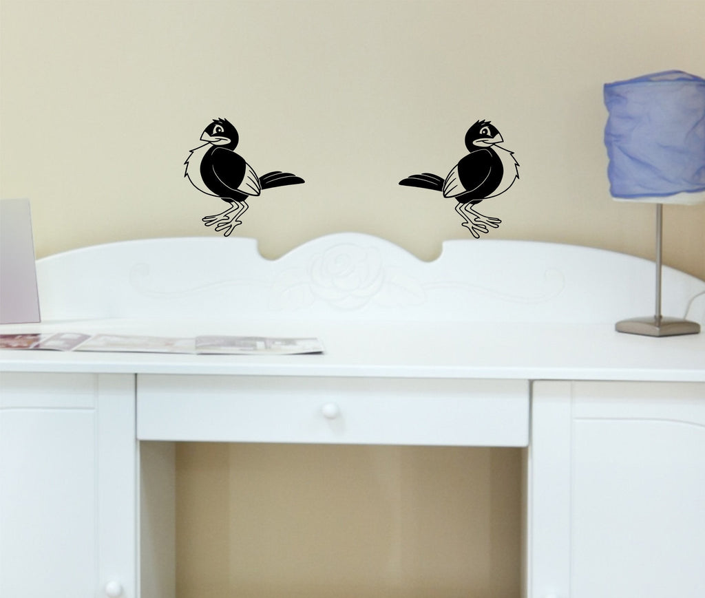 Birds wall decal set - Arise Decals