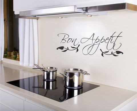 Bon Appetit wall decal - Arise Decals
