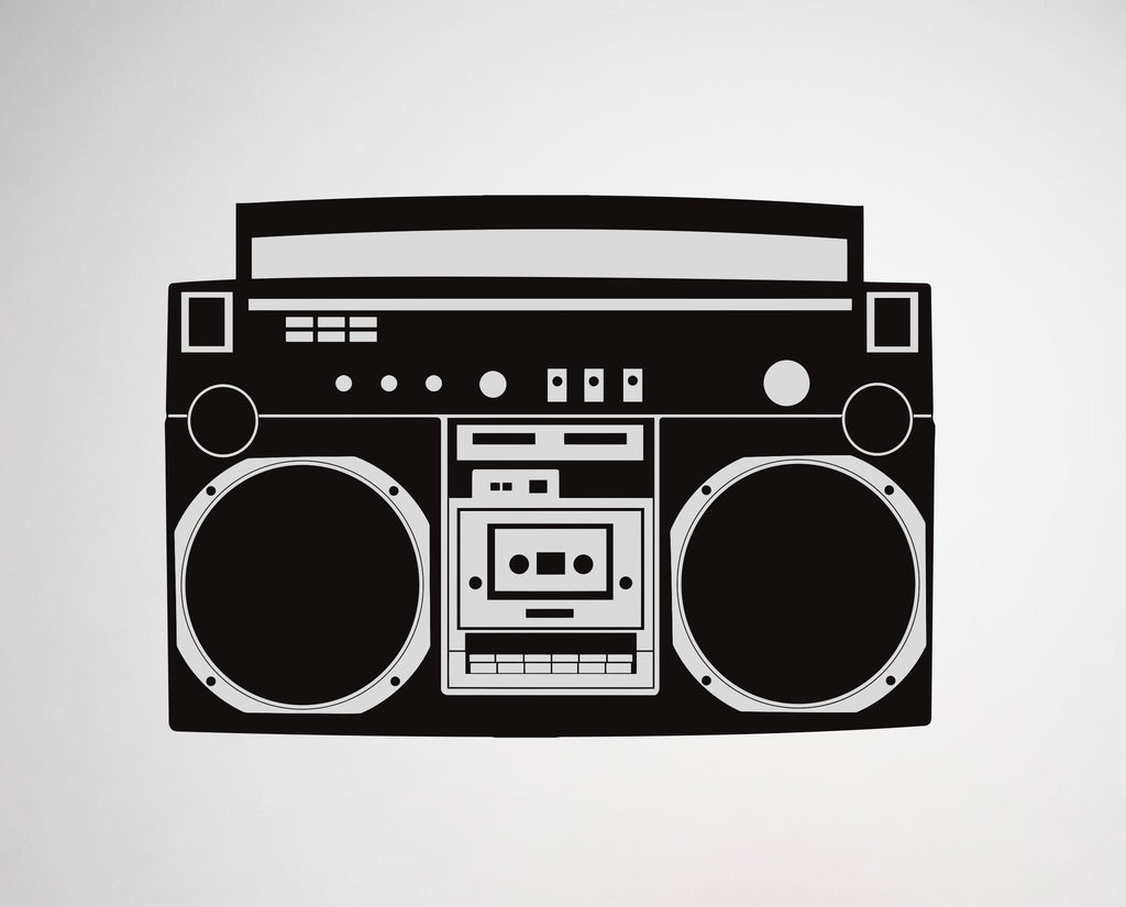 Boombox wall decal - Arise Decals
