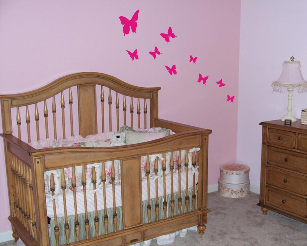 Butterflies wall decals - Arise Decals