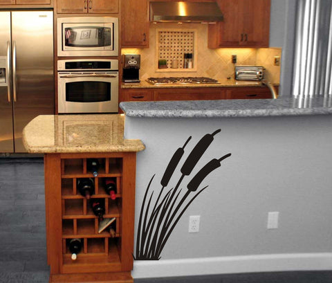 Cattails wall decal - Arise Decals