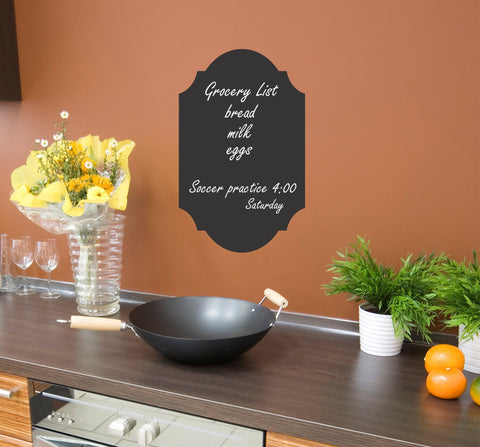 Chalkboard wall decal 01 - Arise Decals