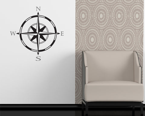 Compass Wall Decal - Arise Decals