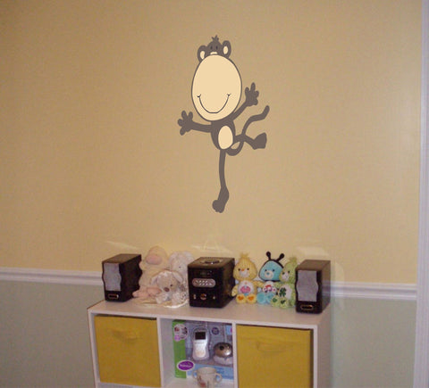 Dancing Monkey wall decal - Arise Decals