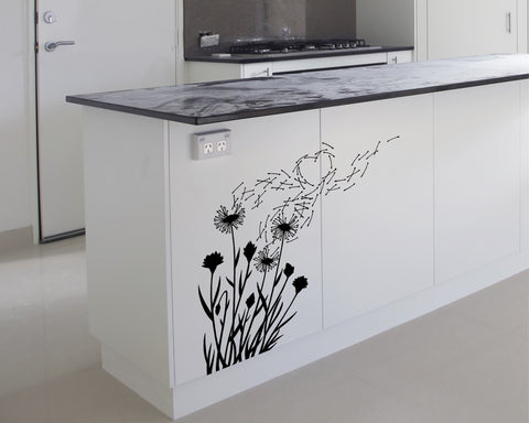 Dandelions wall decal - Arise Decals